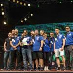 premiazione team campione delmondo
