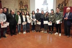 gli studenti premiati al prestigioso Certame cardarelliano a Tarquinia