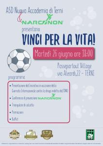 Vinci per la vita - Narconon - Terni A3