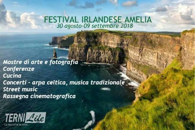 Locandina Festival Irlandese