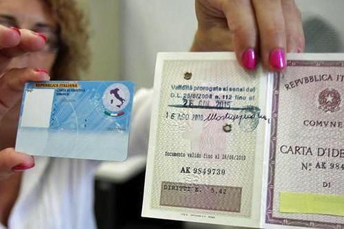 Narni, stop carta d\'identità cartacea: da mercoledì solo quella ...