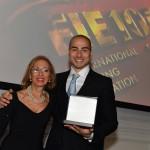 Alessio Foconi con Mamma CdM 2018