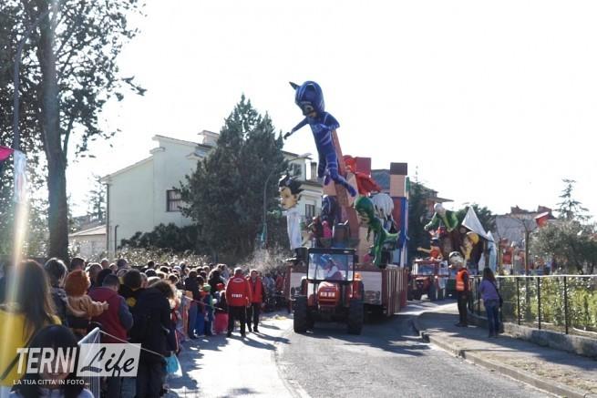 I carri del Carnevale dei bambini di Acquasparta 3
