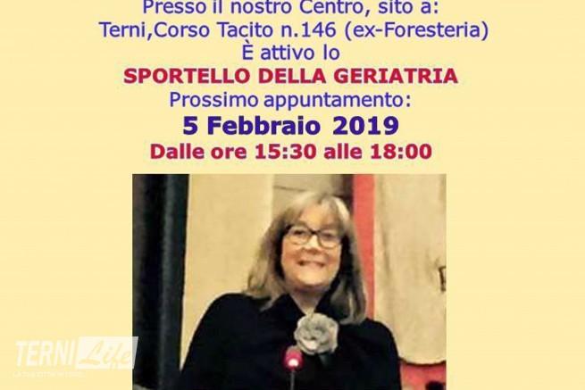 Sportello geriatria