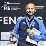 2019 European Fencing ChampionshipsDusseldorf, 17/22 June In photo: FOCONI Alessio                                          Photo BizziTeam