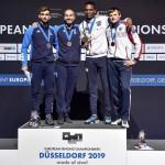 podio fioretto maschile DUSSELDORF2019