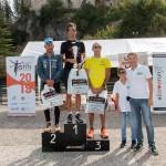 podio senior maschile 5° StraValnerina (2019) - foto Roberto Bertolle
