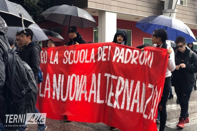 Manifestazione a Terni 1
