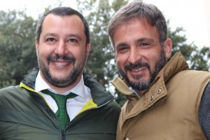 Salvini e Nico Nunzi