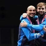 Tokyo, 13-15 december 2019 Test EventWorld Cup foil men in photo: FOCONI Alessio e Garozzo Photo: Augusto Bizzi