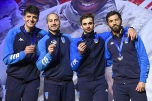 ITALIA Fioretto maschile PARIGI podio