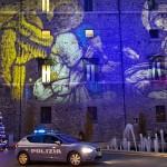 La Volante davanti a Palazzo Spada