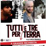 TUTTI E TRE PER TERRA_manifesto
