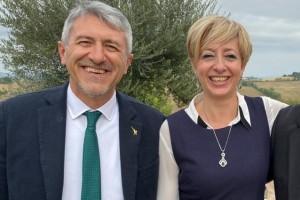 Valerio Mancini e Francesca Mele