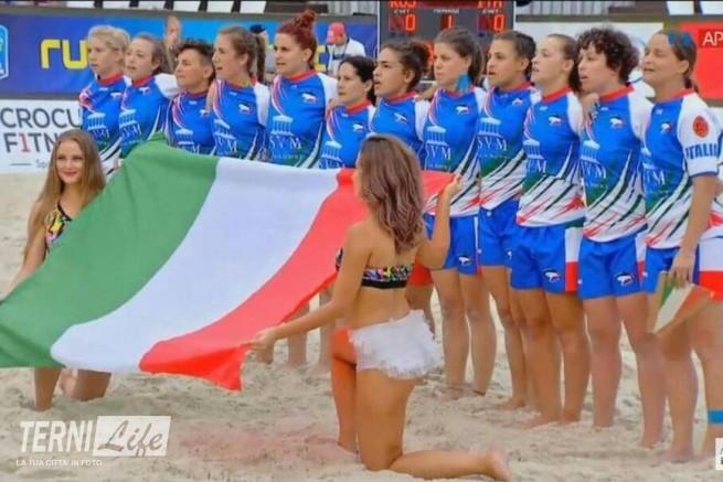 nazionale italiana femminile beach rugby
