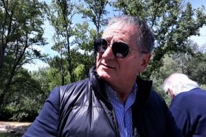 Lattanzi inaugurazione lavori consorzio tevere nera a Maratta