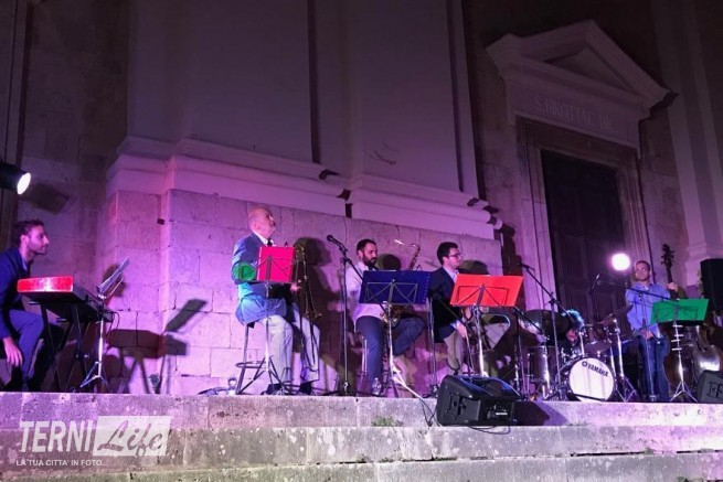 Marcello Rosa e la Filarmonica Sabina Foronovana al Calvi Festival