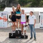 Podio senior femminile 5° StraValnerina (2019) - foto Roberto Bertolle