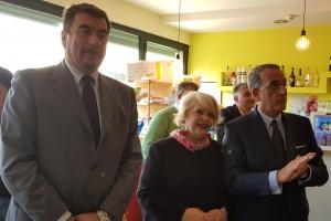 Vicario Luca Sarcoli, Funzionario Simona Proietti, Questore Antonino Messineo